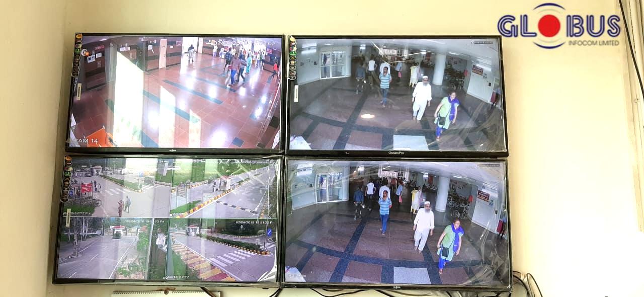 Globus CCTV camera system