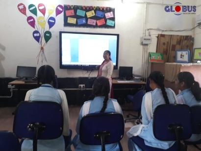 Globus Digital Board in Schools