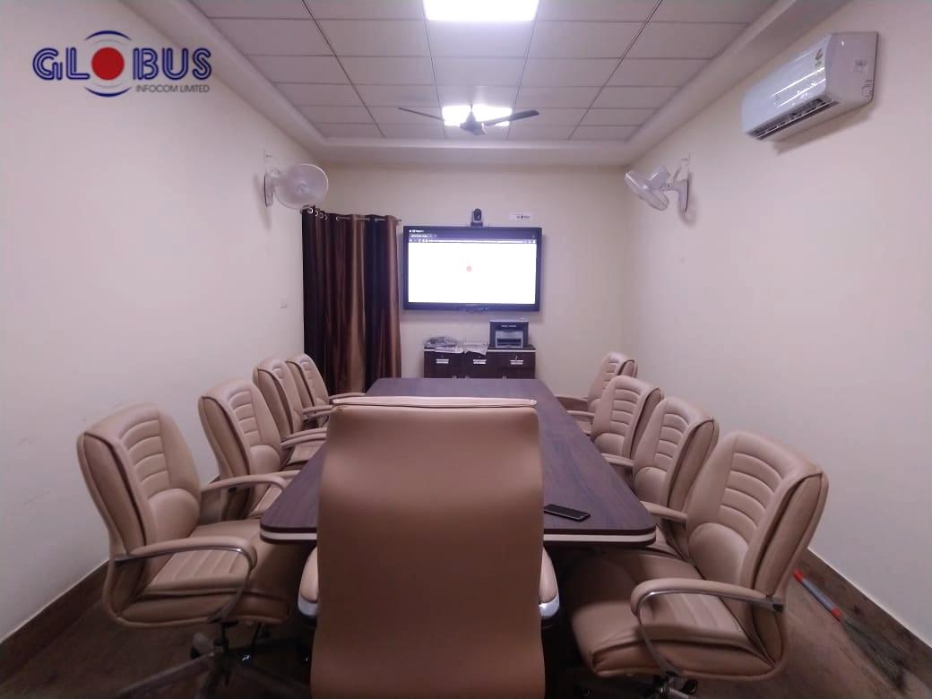Globus Interactive Flat Panel Display