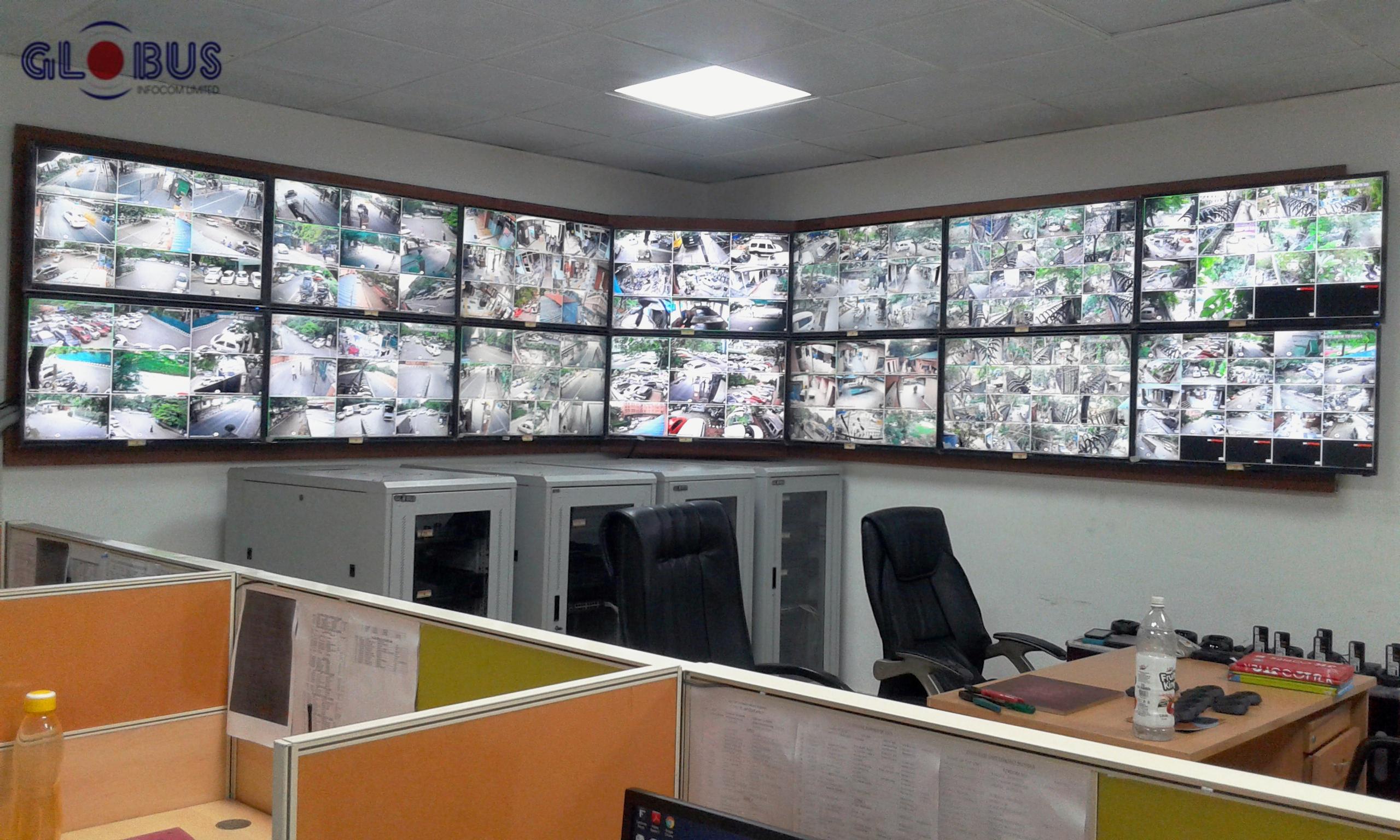 Globus CCTV cameras