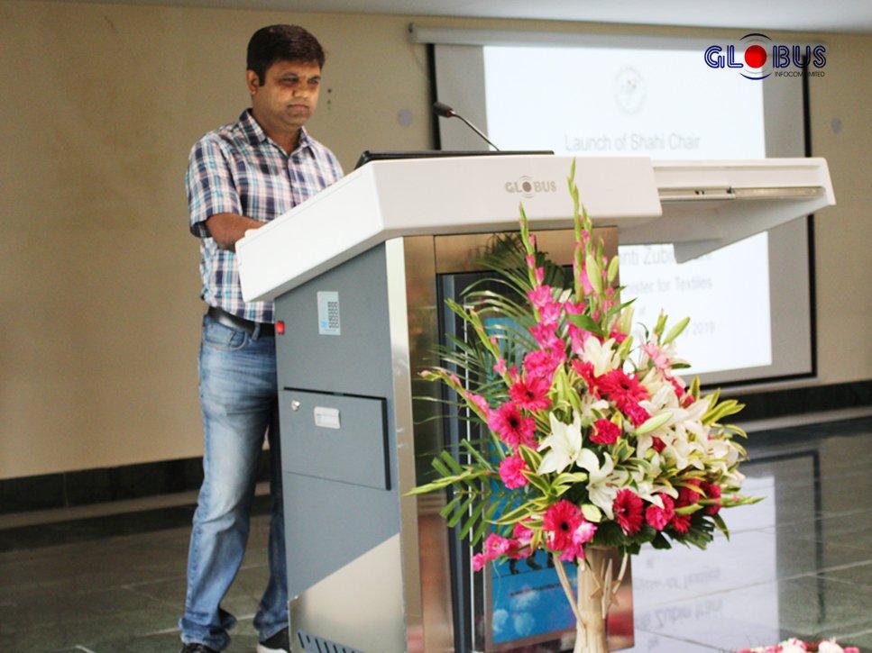 Globus Infocom Digital Podium