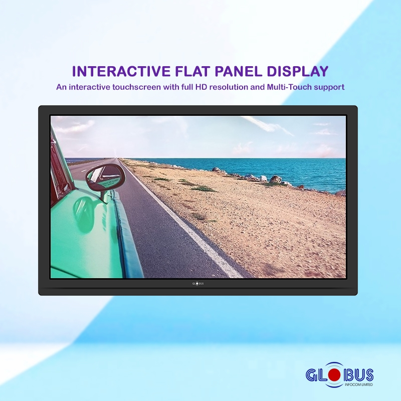Interactive Flat Panel Display for Classrooms