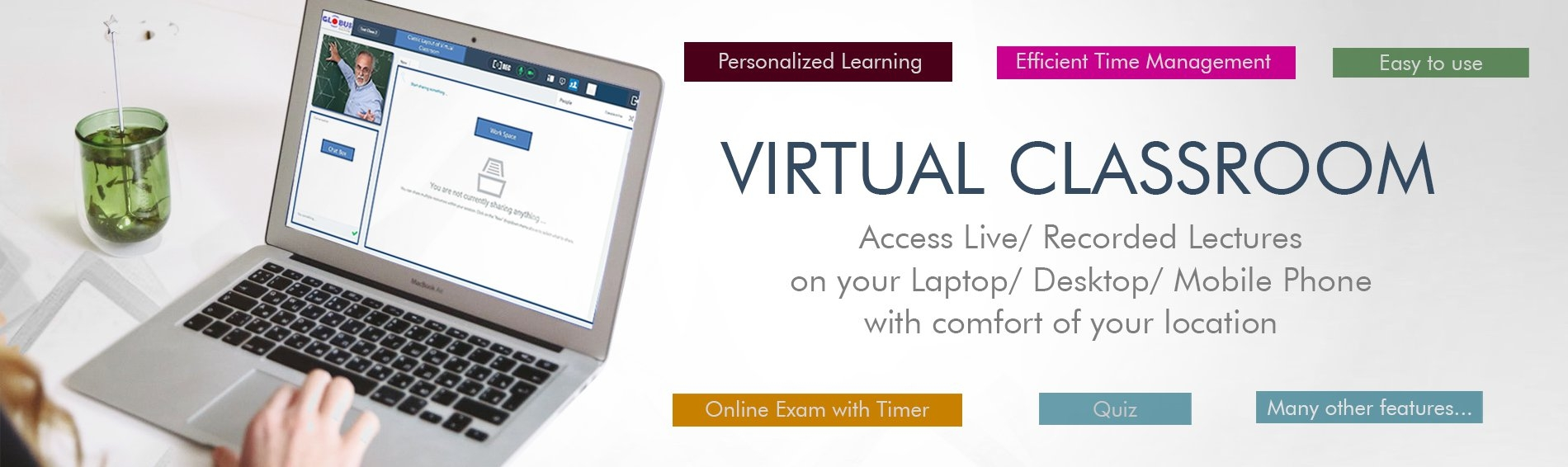 Virtual Classroom and Learning Management System