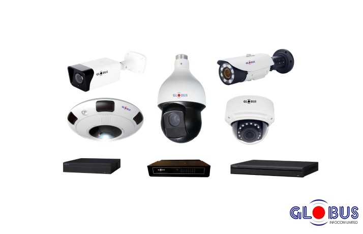 Globus CCTV Camera Solutions and Accessories