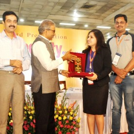 Winner of Best Stall Design at 22nd India International Security Expo, New Delhi