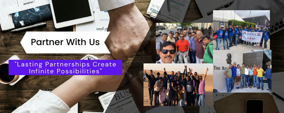 partner with us - Globus Infocom