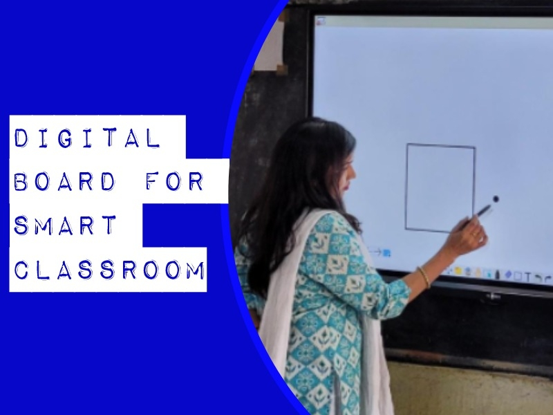 digital boards for smart classroom