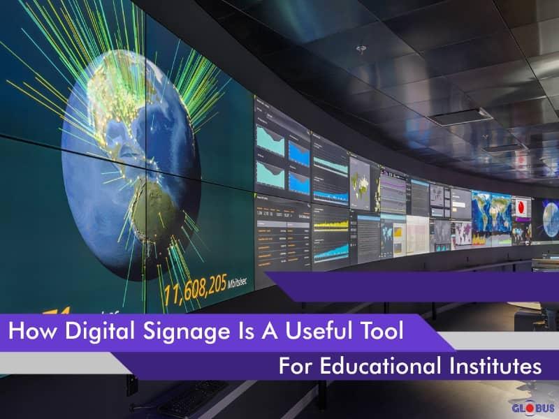 digital signage for educational institutes