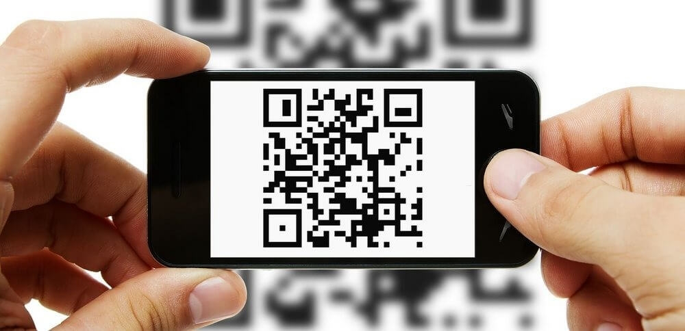 download files from Interactive Display via QR code