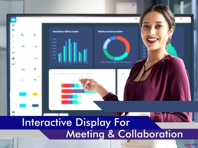 interactive display for meetings