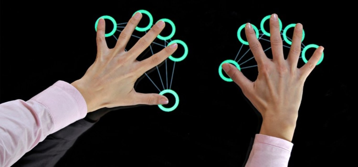 number of touch points in interactive display