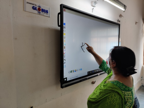 interactive display for schools