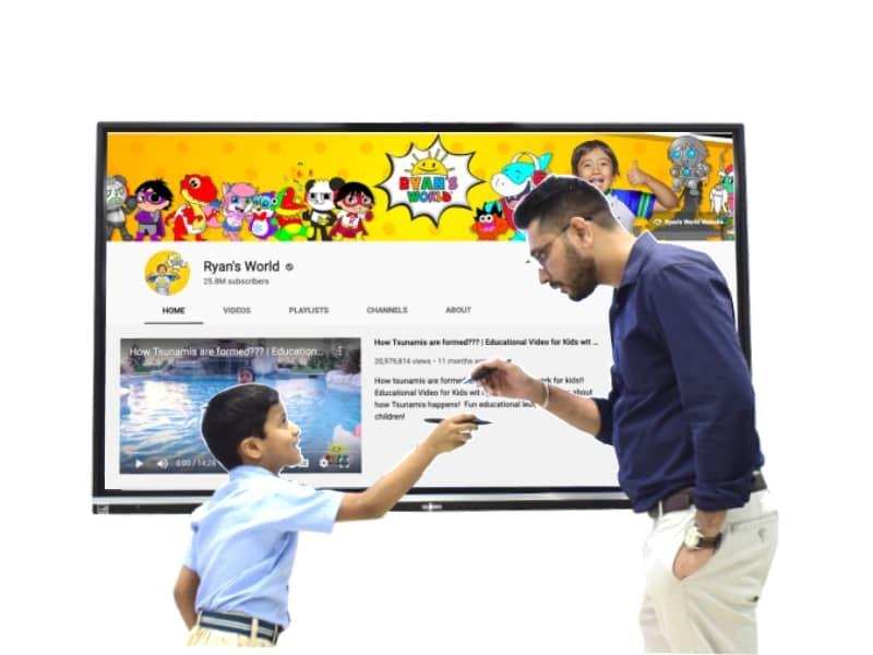 teaching using youtube videos