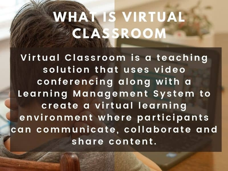 what is virtual classroom software